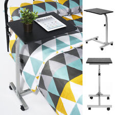 Portable Rolling Desk Laptop Writing Table Sofa Bedsid Food Stand Patient Tray