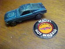 "1967 Hot Wheels Red Line  ""Custom Mustang""    w/Badge   HK"