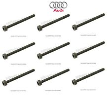 Audi R8 2008-2015 Set of 9 Clutch Assembly Bolts (6 X 70 mm) Genuine N91157601