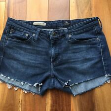 AG Adriano Goldschmied Denim Cut Off Shorts, the Colette, size 27