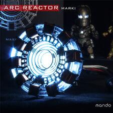 Iron Man 1 LED ARC Reactor MK1 1:1 Tony Stark Heart Light up USB DIY Model