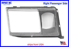 Mercedes W124 HeadLight Door Cover Fog Lamp Lens Passenger Side 000 826 06 59