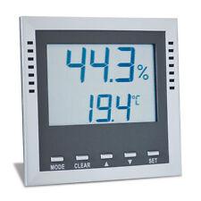 High Precision Hygometer  0%-99%, 40-70C/F 1 ea