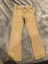 Old Navy Tan/khaki Corduroy Jeans - Size 8 Slim - Adjustable Waist