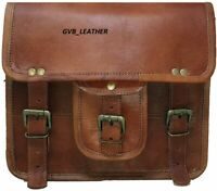 Women Genuine Leather Small Sling Satchel Messenger Cross body Shoulder Handbag