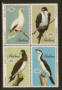 PALAU :1994 Sea Birds block SG677-80 unmounted mint