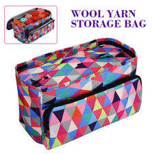 Knitting Tote Bag/Yarn Storage Bag/Oxford Crochet Knitting Tool Yarn Organizer