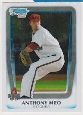 2011 Bowman Chrome Draft Prospects #BDPP59 Anthony Meo Arizona Diamondbacks Card
