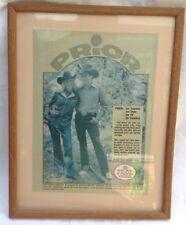 Vintage Advertising Western Cowboy Boots