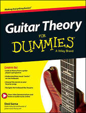 Guitar Theory For Dummies: Book + Online Video & Audio Instruction by Desi Serna