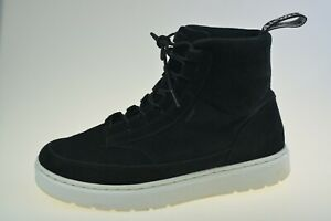 Dr. Martens Natural Kamar Black Suede Hi Top AW501 Men's Boots Size UK 8