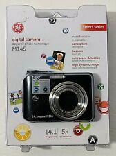 GE M145 14.1MP Digital Camera  Black 5X Optical Zoom