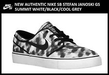 New Authentic Nike SB Stefan Janoski 5.5Y GS Black Women's size 7