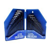 10 Pièce Hex Silverline Jeu De Clés Key Set Imperial 10pce 116 38 Allen Hk19