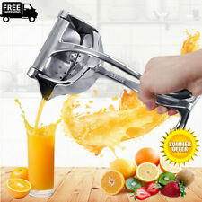 Heavy Duty Manual Juicer Hand Juice Press Squeezer Fruit Juicer Stainless Steel