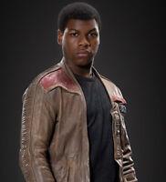 Star Wars The Force Awakens John Boyega Original Leather Jacket 100% Real