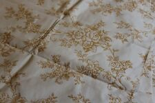 Tissu vintage, 3 morceaux toile épaisse à matelas pour travaux de couture Réf129