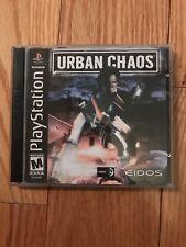Urban Chaos (Sony PlayStation 1, 2000) No Booklet