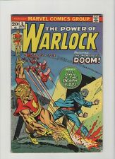 The Power Of Warlock #5 - Dr Doom Cover - 1972 (Grade 4.5) WH