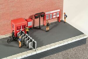 Peco/Model scene 5053 - Modern Era Station Accessories - OO/HO Model trains