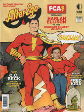 Alter Ego Issue 138 Comics Magazine Shazam! C.C Beck Harlan Ellison Fred Kida