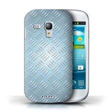 Étuis, housses et coques bleus Samsung Galaxy S en métal pour téléphone mobile et assistant personnel (PDA)