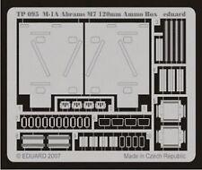 Eduard 1/35 M1A Abrams M7 120 mm Caja de munición. # TP095
