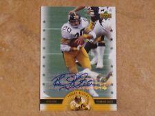 ROCKY BLEIER 2005 UPPER DECK NFL LEGENDS SIGNED AUTOGRAPHED INSERT CARD STEELERS