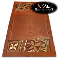 "NATURAL WOOL AGNELLA RUGS rusty leaves ""ISF"" thick and durable carpet"
