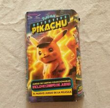 Detective Pikachu trading cards new Argentina 2019