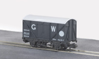 Peco NR-43W N Gauge GWR Dark Grey Box Van