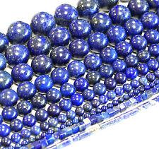 Lapislazuli 2-18 mm Blau Kugeln und andere Formen, 1 Strang *Top Qualität* #4801