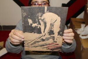 Vintage 1930's Babe Ruth Louisville Slugger Baseball Bat Promo Photo Sign