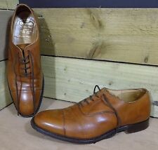 Church's CANBERRA Leather CUSTOM GRADE Oxford Style Shoes Tan Brown 10UK 44EU
