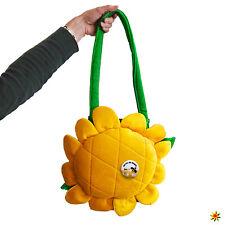 Blumen Tasche gelb Sonnenblume inkl. Button Anstecker Rettet die Bienen Fasching