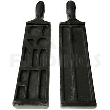 """7"""" Cast Iron Ingot Wire Mould Silver Gold Bar Foundry Melting Casting Metal Tool"""