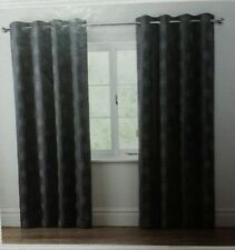 Cotton Blend Embroidered Ready Made Curtains & Pelmets