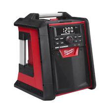Milwaukee 2792-20 18-Volt M18 REDLITHIUM Bluetooth Jobsite Radio & Charger New
