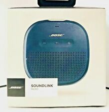 BOSE SOUNDLINK MICRO Bluetooth Speaker~Midnight Blue~W/USB Cable~IN 6 LANGUAGES