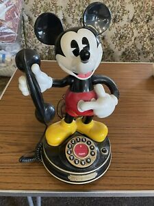 Vintage MYBELLE 805 Mickey Mouse Telephone Walt Disney Phone Spares Repairs