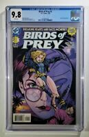 Birds of Prey #1 CGC 9.8 ~ White Pages