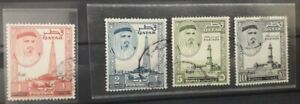 QATAR 1961 definitive series, New currency, 1966, Fine used