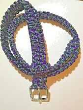 BELT COLOR UNDEAD PARACORD  HANDMADE, ANY SIZE VERY COMFORTABLE!