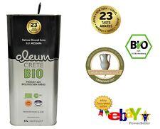 ⭐⭐BIO ⭐⭐ Oleum Extra Virgin Olivenöl aus Kreta 5L 🆕 unter 0,3% Fettsäureanteil