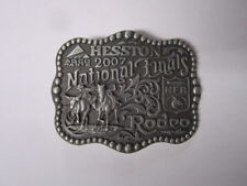 2007 Hesston National Finals Rodeo Youth Belt Buckle