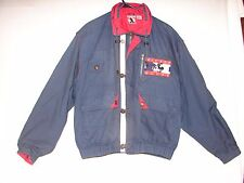 Mickey Mouse Sailing Gear Jacket Coat Size L  ~ Walt Disney Mickey Mouse Coat