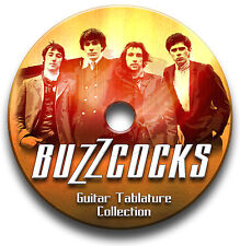 BUZZCOCKS PUNK ROCK CHITARRA INTAVOLATURE CANTO BOOK ANTHOLOGY CD SOFTWARE