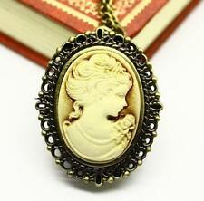 Cameo Watch Oval Traditional 80cm Necklace Pocket