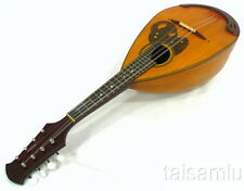 Japan Suzuki no.190 bowlback solid Spruce top maple Mandolin,hard case, OJMN59