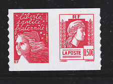 FRANCE AUTOADHESIF N°   43 ( 3716 ) P43, Paire H2 ** MNH, Marianne d'Alger, TB